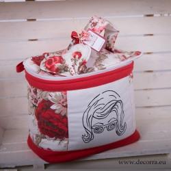 5021-MB. Козметична чанта Винтидж цветя